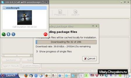 Взгляд на использование Asus Eee PC (Linux версия)