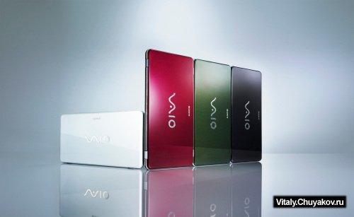 Sony VAIO P - сборный материал о премиум нетбуке
